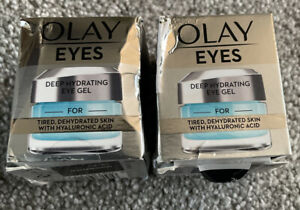 2 x Olay Eyes Deep Hydrating Eye Gel For Tired Dehydrated Skin Moisturiser New