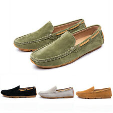 Mens Pumps Moccasins Slip On Suede Summer Outdoor Gommino Loafers Driving Shoes