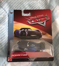 NEW DISNEY PIXAR CARS 3 FLORIDA 500 JACKSON STORM SEALED PACK RARE HTF!