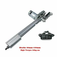 Linear Actuator Reciprocating Motion High Torque 20Kg Stroke 150mm Display Power