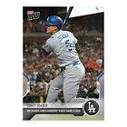2021 TOPPS NOW #969 COREY SEAGER LOS ANGELES DODGERS RBI DOUBLE EARLY LEAD