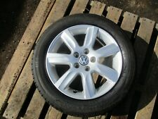 2009-14 VW POLO 6R 5 STUD 15''ALLOY WHEEL AND TYRE 185/60R15