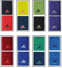 New Adidas DOUBLEWIDE Wristbands Tennis Murray Tsonga Sport Large SWEATBANDS