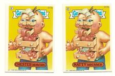1987 Garbage Pail Kids Cards Series 13 517a Chester Drawers / 517b Natty Dresser