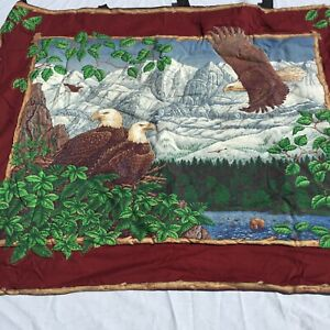 """Eagle Quilt Handmade Wallhanging 41"""" x 33"""""""