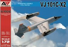 A & A Models 1/72 VJ101C-X2 Supersonic-Capable VTOL Fighter # 7202