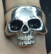 Keith Richards SZ 10 Skull Ring (Legitimate) 925 Sterling Silver 17 Grams