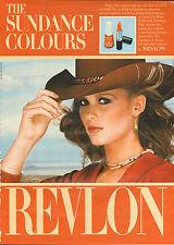 Publicité 1981 REVLON  les nouvelles couleurs rouge à lèvres vernis à ongles
