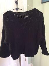 ladies black jumper size 16