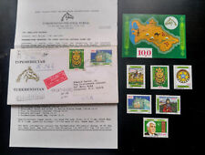 "V.RARE TURKMENISTAN 1ST POSTAGE STAMPS 1992 PRINTED IN USA ""ORIGINAL"" NEW ISSUE"