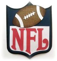 NFL TITLE SPORTS FOOTBALL  PREMADE PAPER PIECING 3D DIE CUT MYTB KIRA