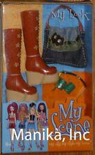 2002 Barbie My Scene My Look #2 Platform Thigh Boots, Bag, Cuffs & Shades Mattel