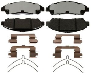 Disc Brake Pad Set-Ceramic Disc Brake Pad Front ACDelco Pro Brakes 17D1896CH