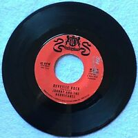 Johnny and the Hurricanes  REVEILLE ROCK / TIME BOMB on WARWICK Records 45 rpm
