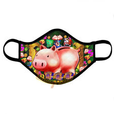 Piggy Bankin Slot Casino Face Mask, Reusable Washable Cover Mask