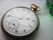 Reloj de bolsillo Vintage Tornillo Entubado Elgin.