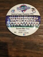 1992 World Series Toronto Blue Jays Limited Edition Pin