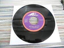"LYNN CHRISTOPHER NO SUGAR TONIGHT B/W MOMMA MOMMA 7"" SINGLE"