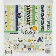 "Echo Park 12"" X 12"" Paper Collection Kit Hello Baby It's A Boy NEW"