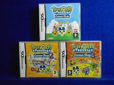 ds TAMAGOTCHI CONNEXION Corner Shop x3 Games 1 + 2 + 3 Nintendo PAL UK