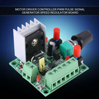 Stepper Motor Controller PWM Pulse Signal Generator Speed Regulator Board New
