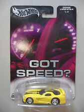 2003 Hot Wheels Metal Collection - DODGE VIPER GTS-R - 1/4 - Got Speed? - C2637