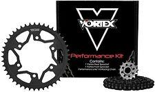 Vortex MXS Chain & Front / Rear Sprocket Kit One Up Rear Honda CRF250R 2010