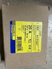 Square D Qo120Gfi - Qo120Gfic 20A 1 Pole 120V Ground Fault Circuit Breaker