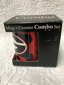 Georgia Bulldogs Mug & Coaster Combo Set