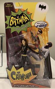 Batman Classic TV Series, Catwoman Collector Action Figure,DC Comics, RARE, MOSC