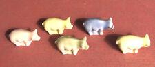 Wade Fest 2005 5Lil' Bits Piglets Teenie Little 1�x1/2Figurines, Mint. Ltd.Ed.
