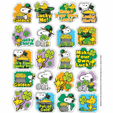 Peanuts St. Patricks Theme Stickers Eureka Eu-655059