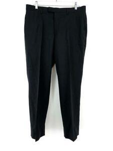 Banana Republic Marzotto Standard Fit Dress Pants Black 120s Wool Size 33 x 30