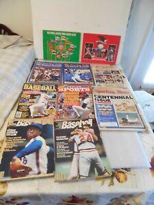 10 Baseball Magazines From 1980's