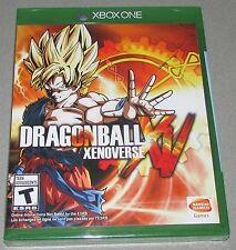 DragonBall Xenoverse for Xbox One Brand New! Factory Sealed!