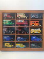 Vintage Die Cast Collectible Cars & Display lledo, Corgi Etc