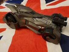 "LARGE BATMOBILE CAR FOR ACTION FIGURES 2015 MATTEL 12.5"" LONG DC COMICS BATMAN"
