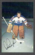 1979-80 Edmonton Oilers Dave Dryden Team Issued Postcard