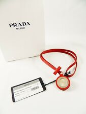 Necklace Watch Limited Edition-Nwt Authentic Prada Swiss Movement Leather