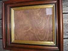 Antique 2-Part Walnut Shadow Box Frame. 8955