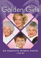 The Golden Girls - Series 6 * Beatrice Arthur * 3-Disc Region 2 (UK) DVD * New