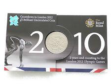 2010 Royal excellent état London 2012 Jeux Olympiques Countdown BU cinq Livre