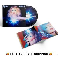 KYLIE MINOGUE - Disco CD Album + Signed Booklet *SOLD OUT* 🚚FAST AND FREE P&P🚚