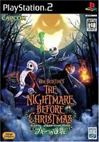 USED PS2  Tim Burton - The Nightmare Before Christmas - Boogie Strikes Back