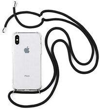 Handy Hülle mit Band Handykette zum Umhängen Schutzhülle Samsung iPhone Huawei