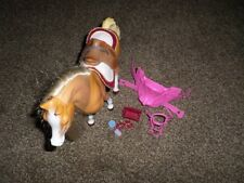 1998 Vintage Mattel Barbie Walking Beauty Horse with Accessories