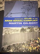 New Routledge Atlas of Arab-Israeli Conflict Martin Gilbert 8th Edition w/ Maps