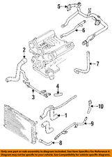 AUDI OEM 93-95 90 2.8L-V6-Rear Pipe Assembly 078121071BF