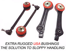 4PC Front Lower Rear Control Arm Set Bushings 300 Charger Magnum