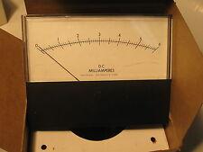 "Weston Panel Meter (Pioneer) 06 DCmA Universal Voltronics 2-802-3-0 4"" x 5"""